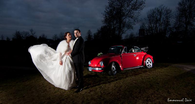 robe mariée-flashs déportés mariage