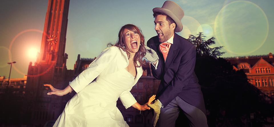 Aude et Mathieu continuent leur cinéma en post wedding